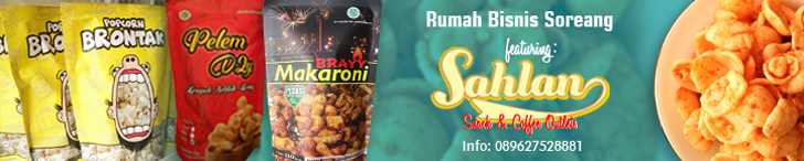 Header Rumah Bisnis Soreang featuring Sahlan Snack & Coffee Outlet