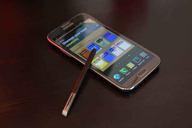 Samsung Galaxy Note II lock screen bypass vulnerability