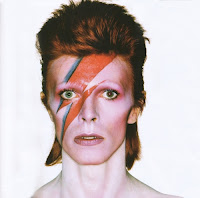 Iconic David Bowie cover of Aladdin Sane
