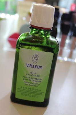 Tratamiento para la combatir la celulitis de Weleda Argentina