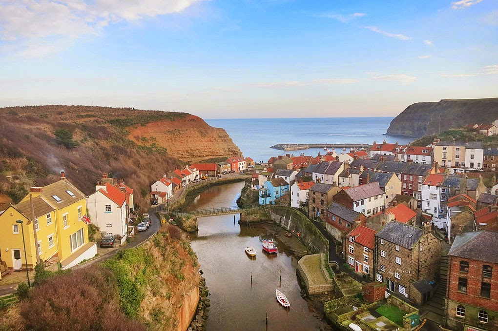 Staithes circular walk on the Cleveland Way, North Yorkshire coast walks, best view