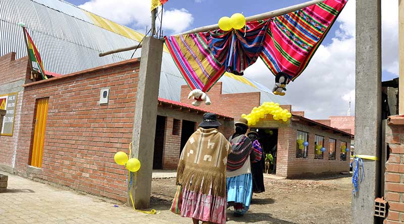 Casa del adulto mayor del distrito 3 en El Alto
