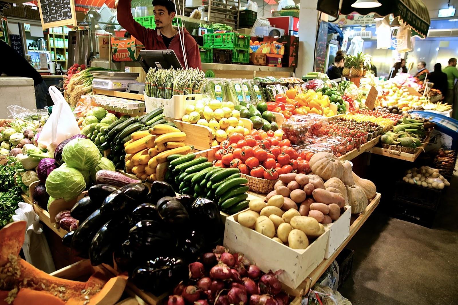 Kitchen Market Tel Aviv Menu