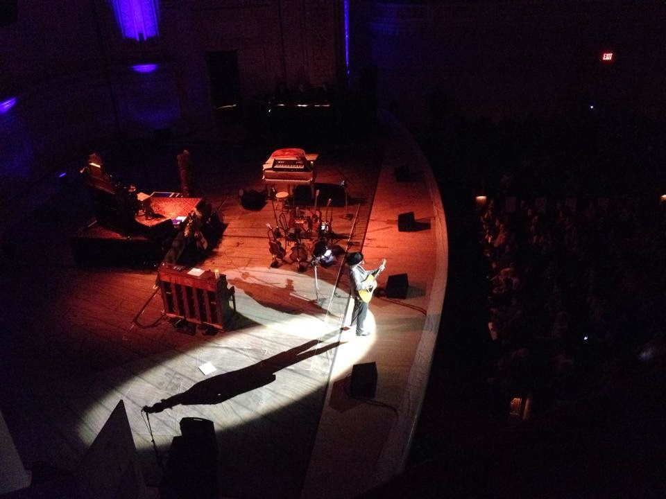 Neil Young Carnegie Hall 2014