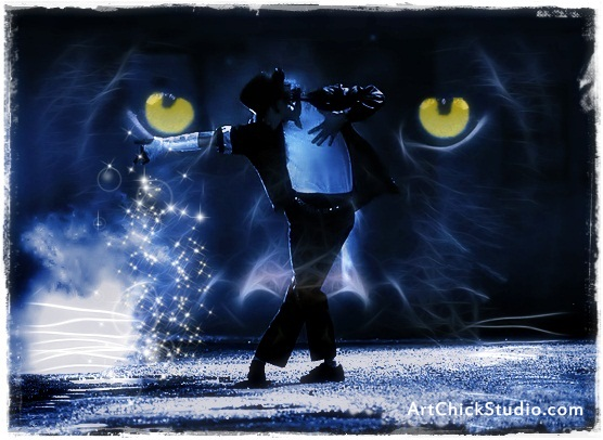 Panther Dance Michael Jackson Art