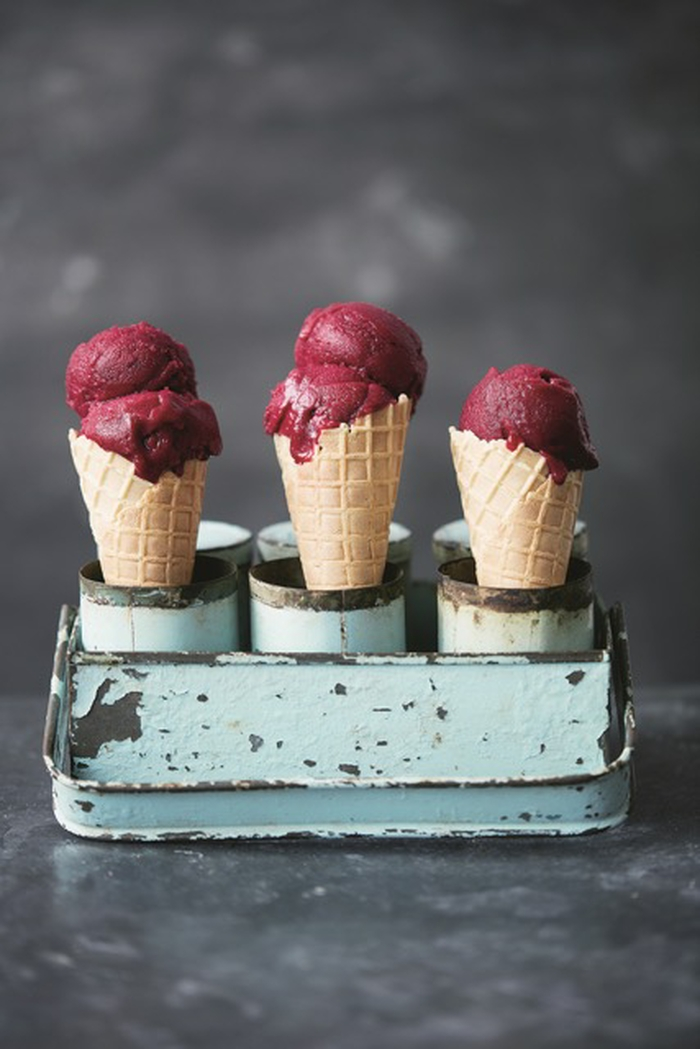 Vegan Beetroot and Vanilla Sorbet Recipe
