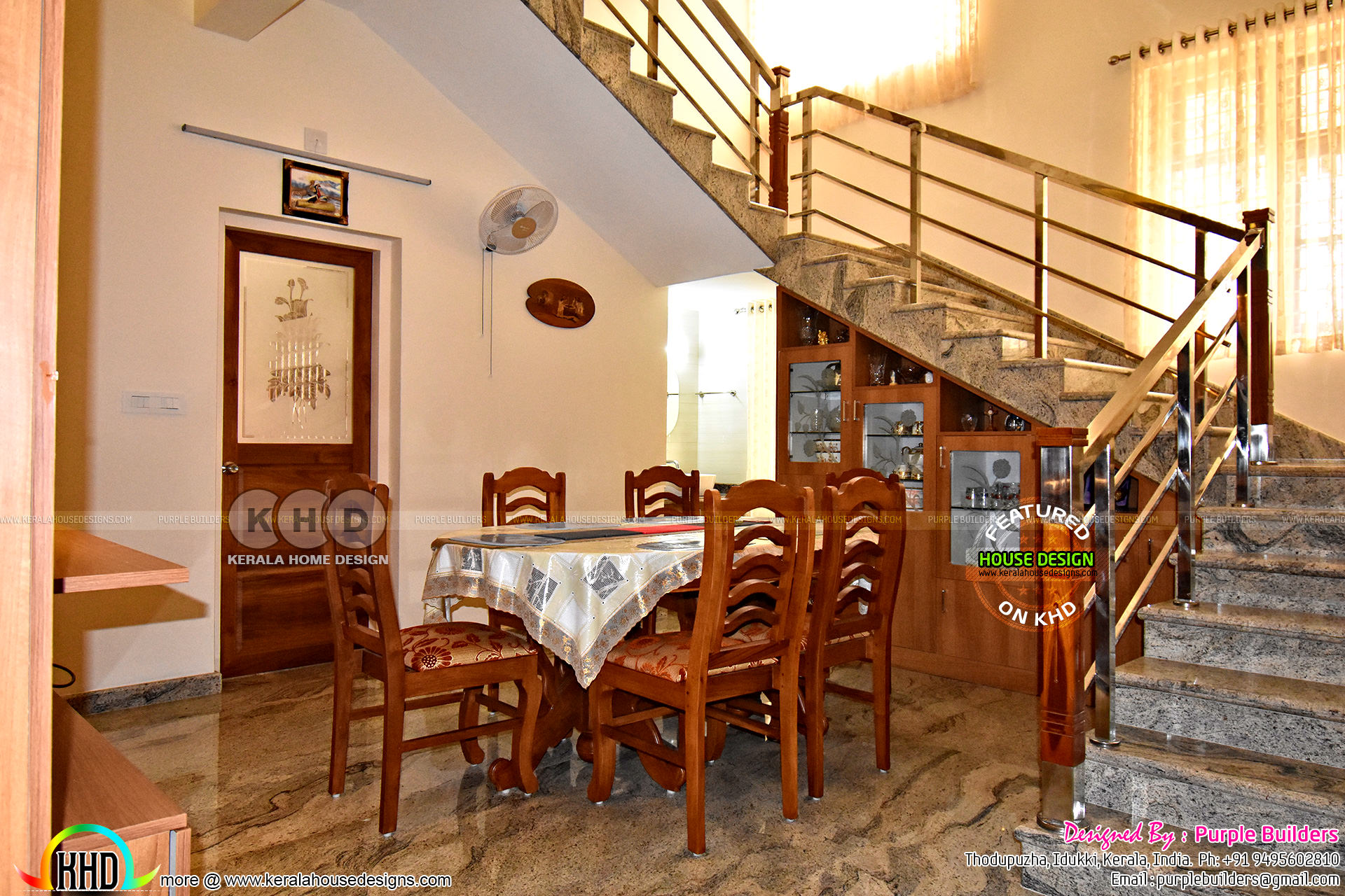 Interior Finished 4 Bedroom Kerala Home Plan Kerala Home