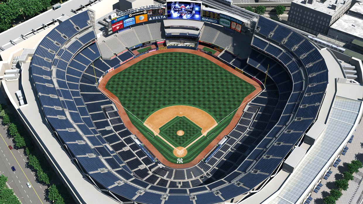yankees stadium seating chart - New York Yankees Virtual Venue™ by IOMEDIA