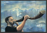 sounding the Shofar
