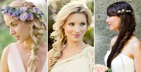 Rápido y fácil peinados novia trenza Imagen de ideas de color de pelo - Novia Con Estilo: Los mejores peinados de novias