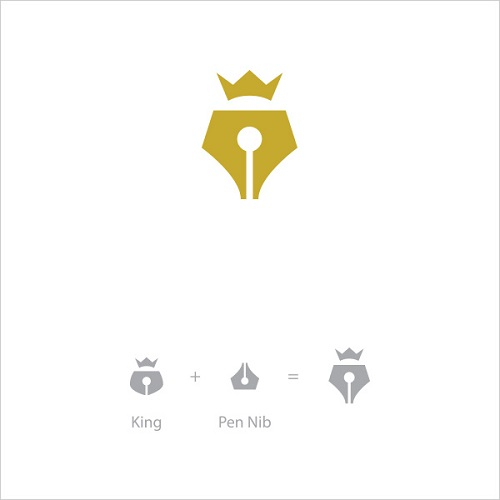 Logo Example - King Pen