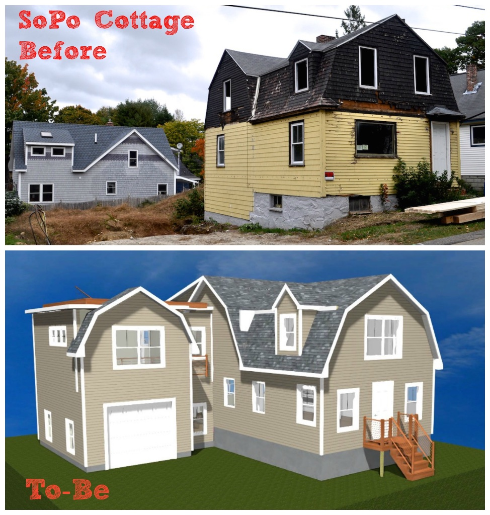 sopo cottage exterior 1906 style expanded and updated for today