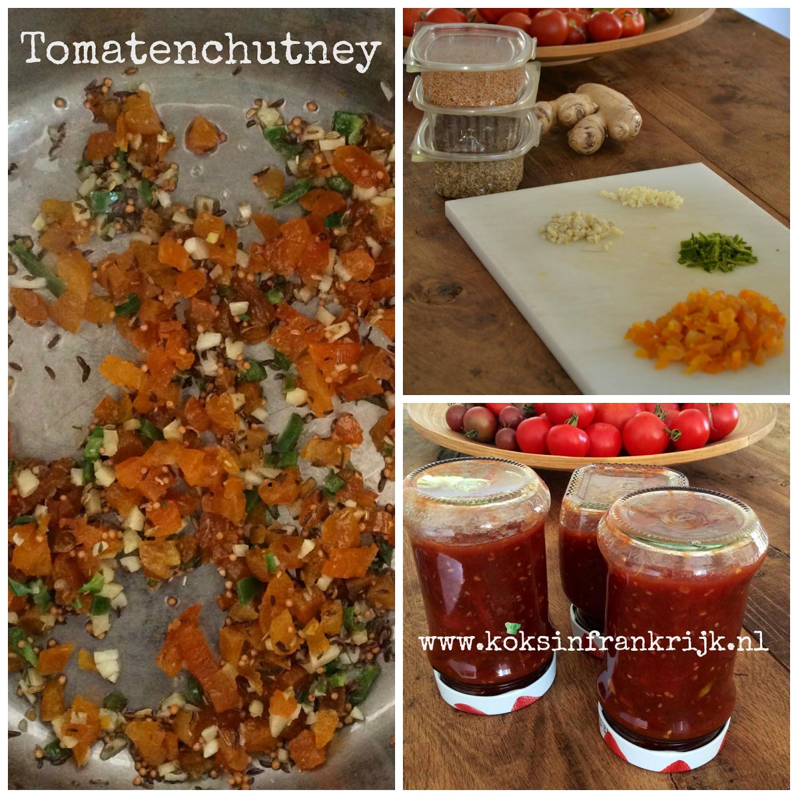 zelf tomatenchutney maken