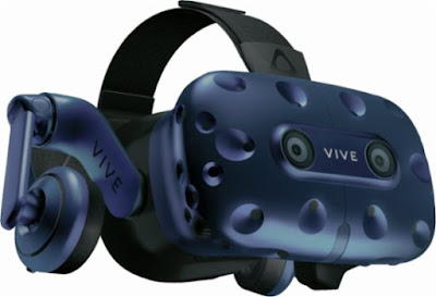 HTC Announces, Vive Pro Eye, Virtual Reality Headset, Local Eye Tracking Technology, technology, htc, high-quality VR, vr, technique, ces 2019 news, tech, tech news, news, HTC VIVE Pro,