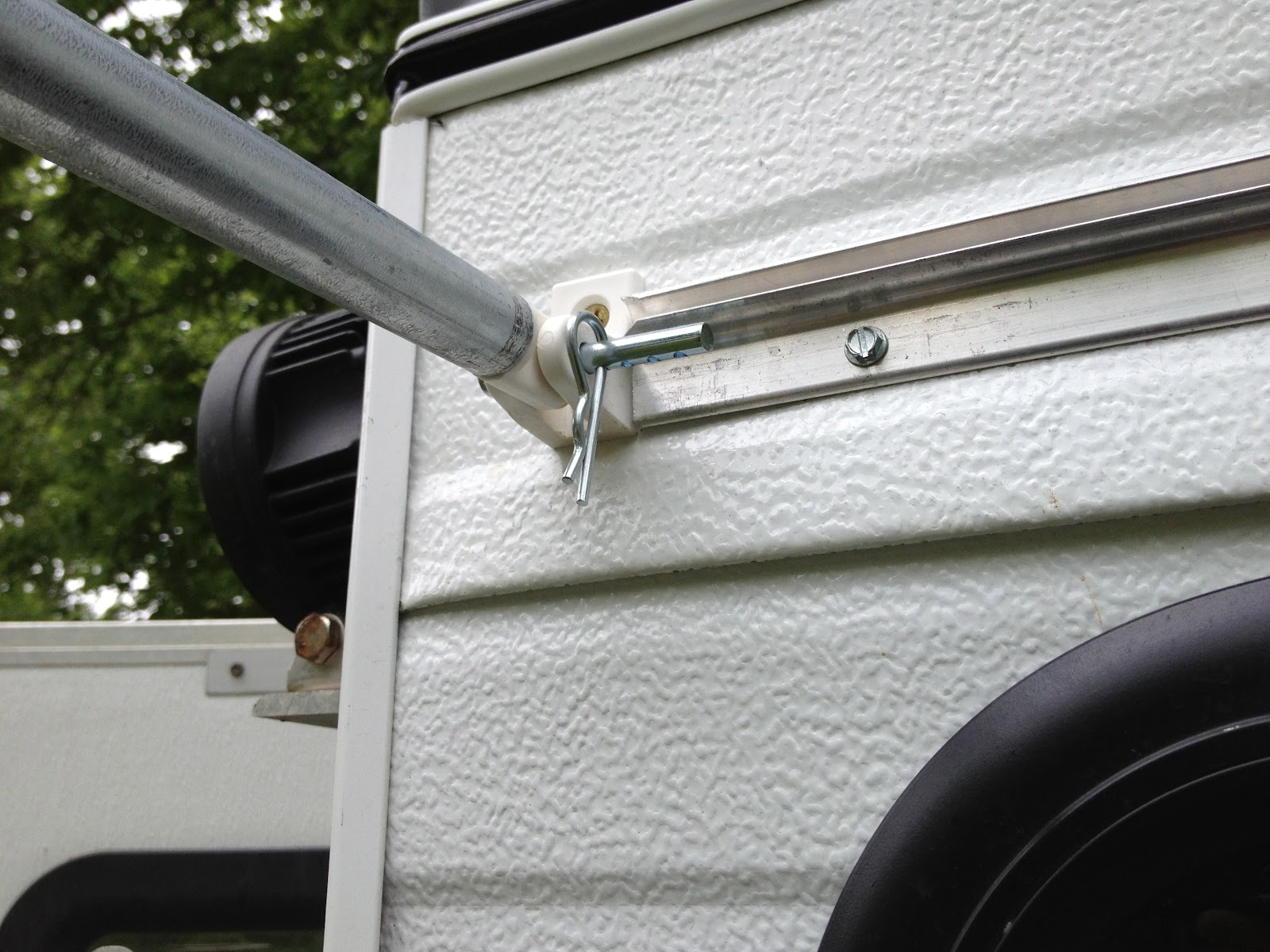 Travels with Rocky the Dog: New Awning