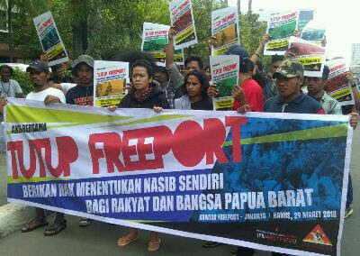FRI-WP dan AMP: Freeport Indonesia Malapetaka Bagi Bangsa West Papua