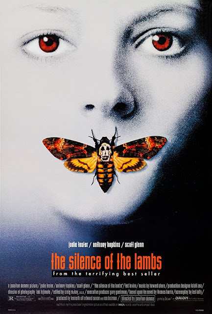 The Silence of the Lambs 1991 movie poster