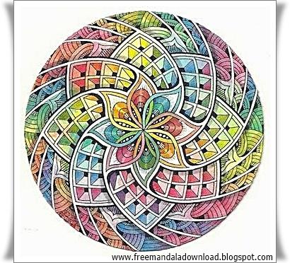 mandala malvorlagen des tages mandala coloring pages of the day - free mandala