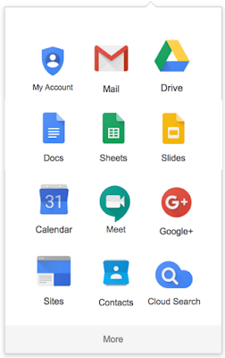 G Suite : Modification du lanceur d'applications