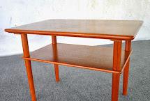 Select Modern Danish Teak Side End Table Nightstand