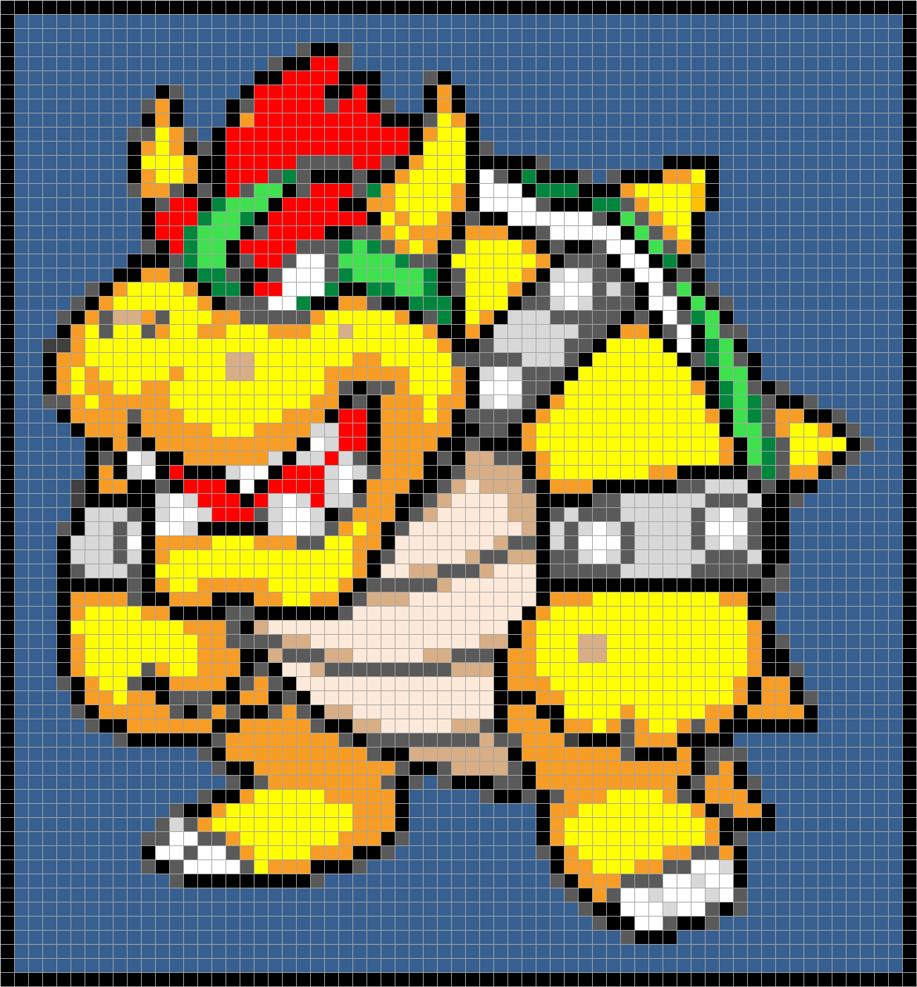 Damn it janet lets crochet bowser pillow in tunisian crochet click on image to enlarge dt1010fo