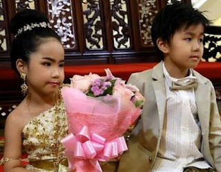 Six-Year-Old Twins Get Married In A Lavish Ceremony [Photos]