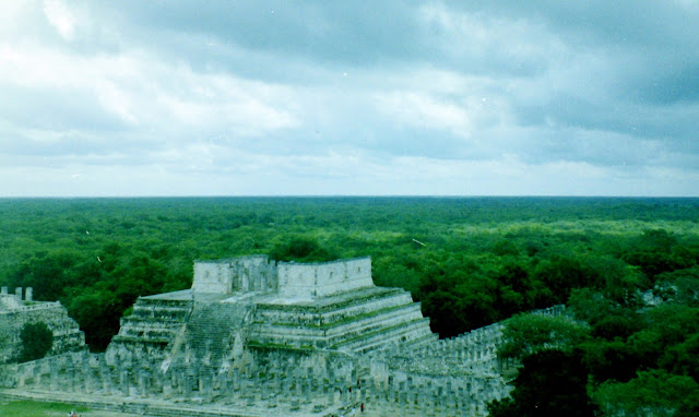 Mexico Pyramid Yucatan