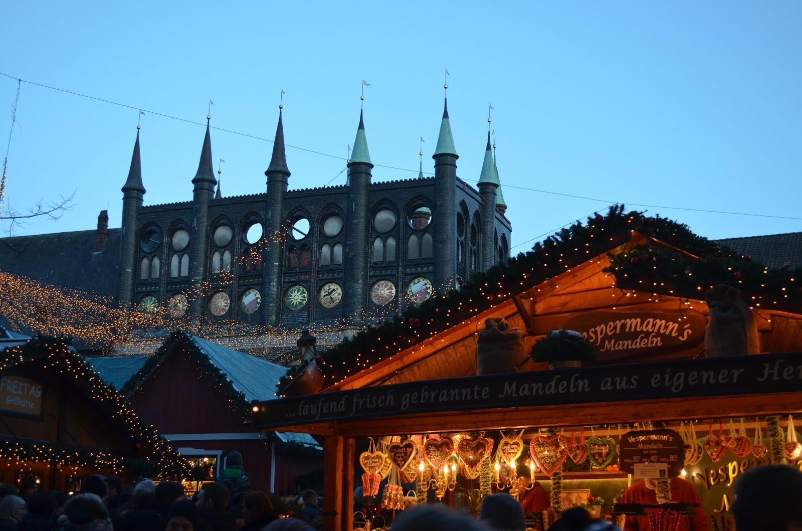 Weihnachtsmarkt W.życie Na Emigracji W Niemczech Kiel Niemcy Podróże Nauka