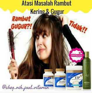 rawatan untuk rambut kering