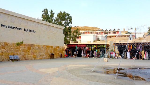 Petra visitro Center, all'ingresso del sito archeologico - foto di Elisa Chisana Hoshi