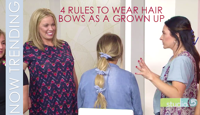 4 RULES TO WEAR HAIR BOWS AS A GROWN UP