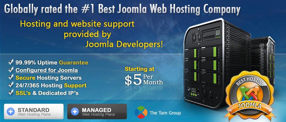 Joomla Website Hosting Services