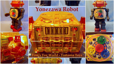 Tom's Toy World - TomaniaToys ****: Yonezawa Tin Toys Japan
