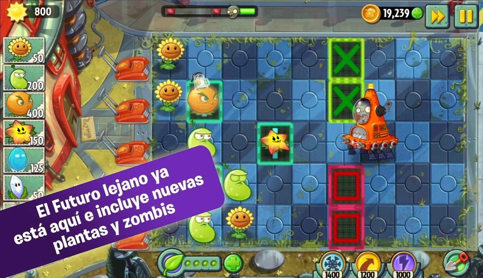 plants vs zombies 2 apk descargar