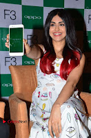 Bollywood Actress Adah Sharma Pos in White Printed Short Dress at OPPO F3 Plus Selfie Expert Mobile Launch .COM 0021.jpg