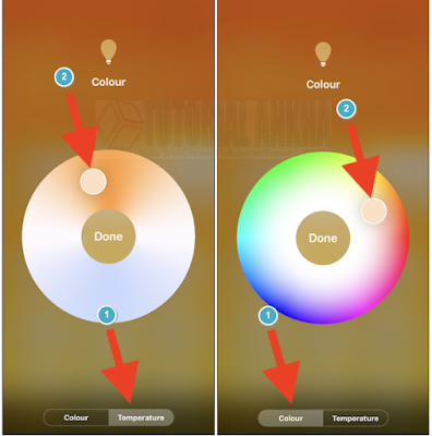 Cara Mengubah Warna Lampu dengan Aplikasi Home untuk iPhone dan iPad