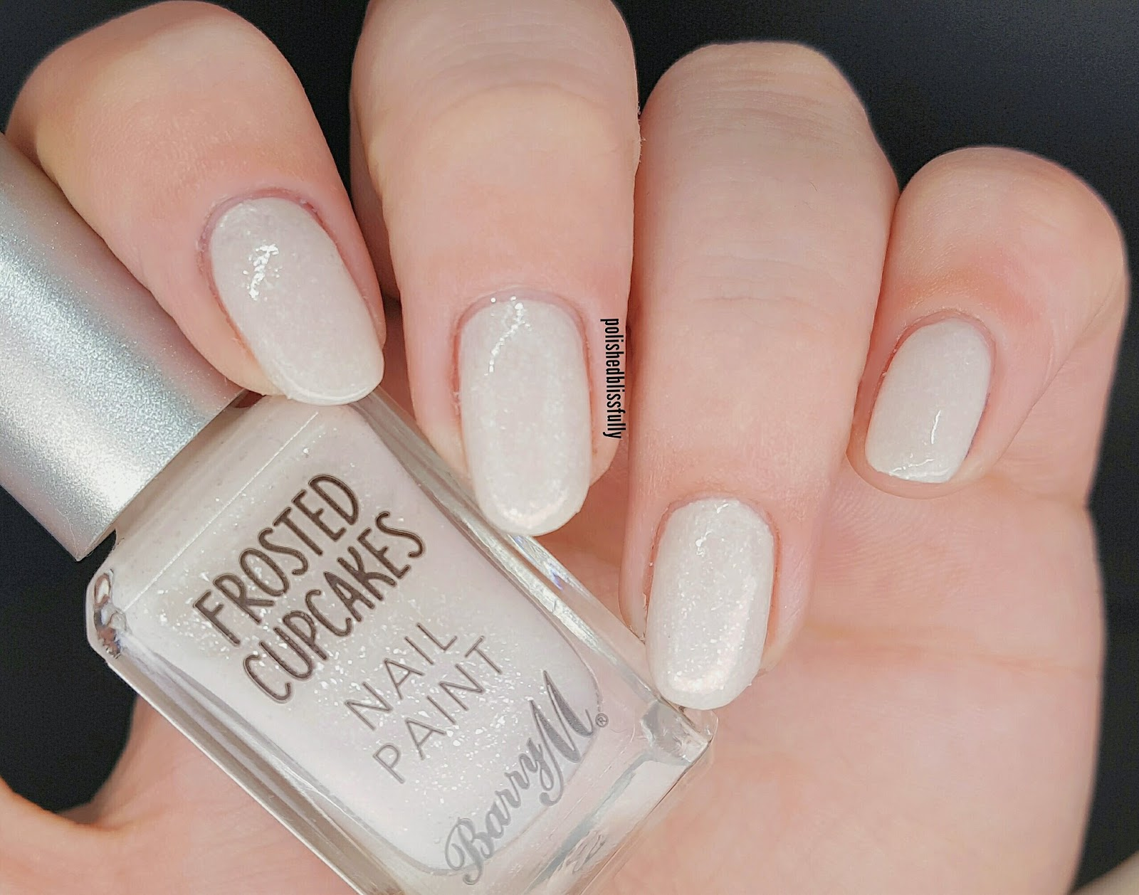 Barry M Frosted Cupcake Nail Polish - Creative Touch