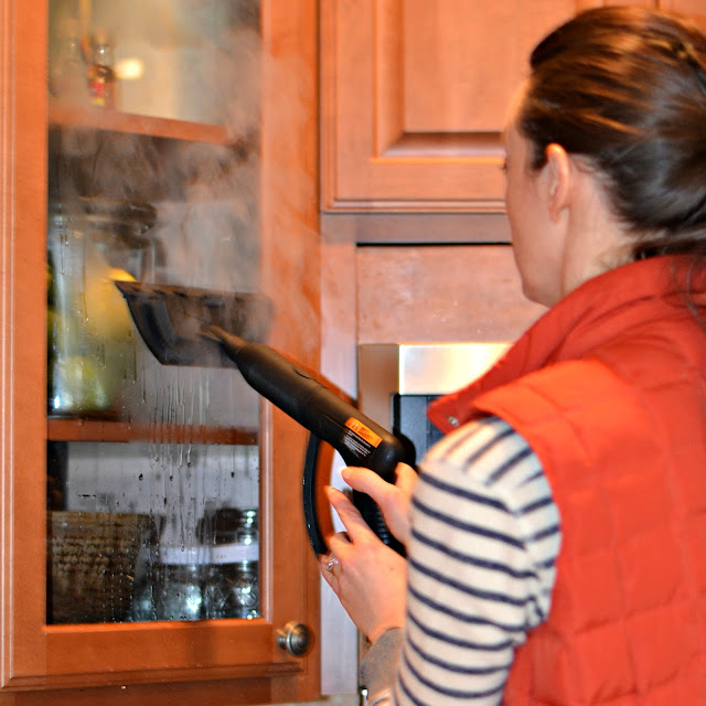 using steam to clean your home