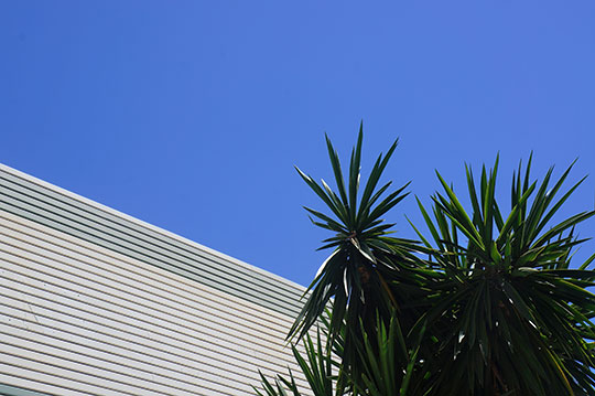 blue sky, urban photography, contemporary photography, minimalist, minimalism, travel, Sam Freek,