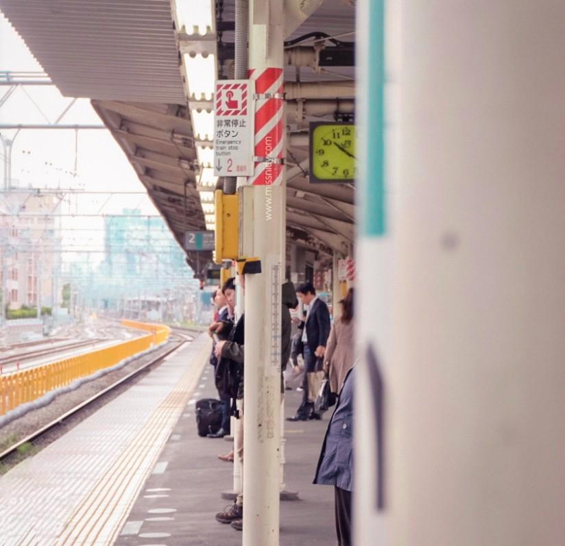cara naik kereta di jepang
