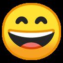 Chuckle emoji