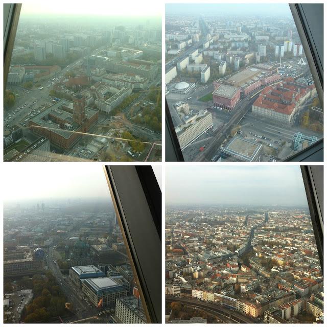 vista da Torre de TV, Berlim