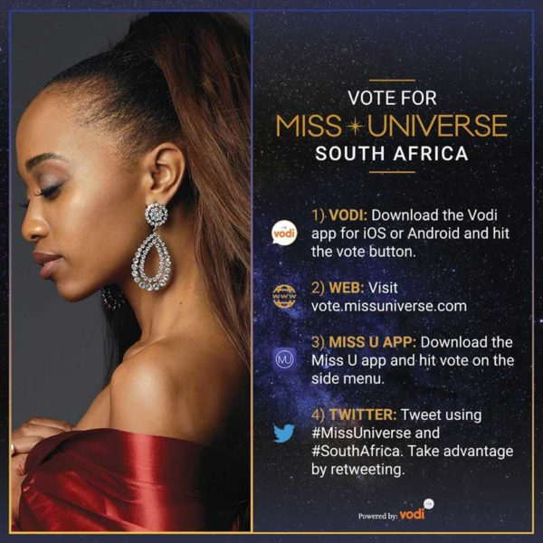 Bokissonthrone News Pageant Voting Has Started For The 65th Miss Universe Competition Vote For Your Fave African Queen