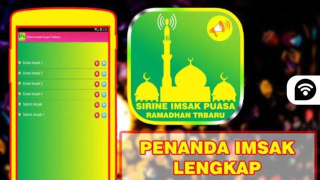 Aplikasi Alarm Sirine Imsak Puasa Terbaru