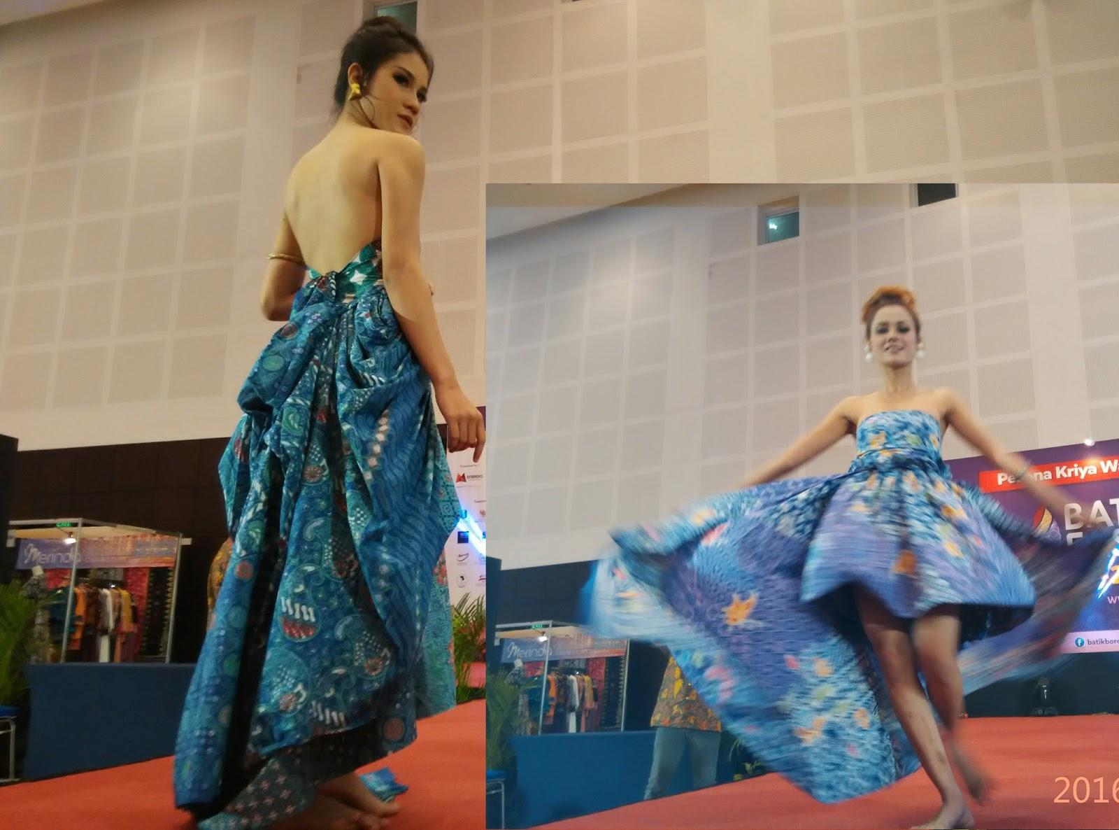 "Pesona Kriya Wastra Indonesia "" Batik Fashion 2016 """