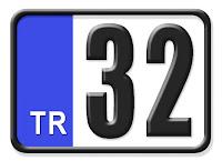 32 Isparta plaka kodu