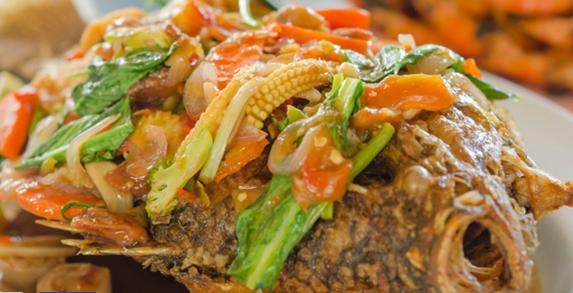 Download Resep Ikan Mujair Goreng Saus Siram Asam Pedas