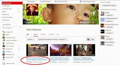Memasang Vidio Youtube Bermain kelereng Menjadi Responsive