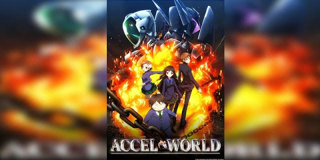 Rekomendasi Anime Game, Tentang Masuk Dunia Game Accel World terbaik