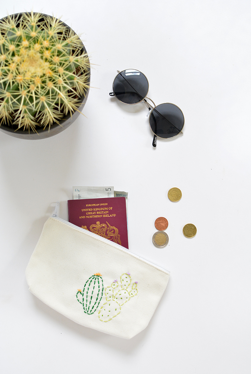 how to sew a cacti purse craft tutorial